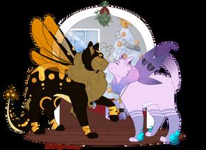 (Mothcats) Joy To My World (YCH)