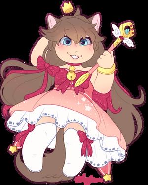 (Comm) Magical Girl Theme Intensifies by Vividaydreamer