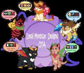 (OTA) Emoji Mothcats