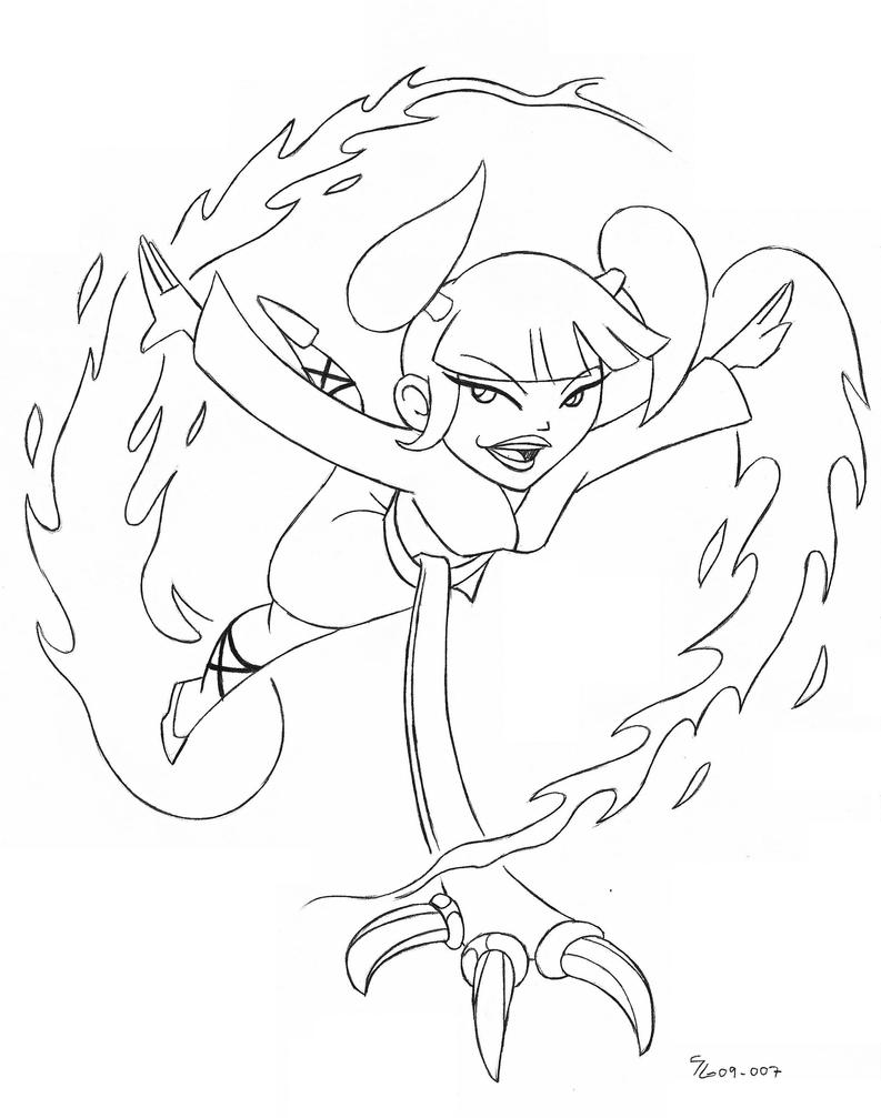 xiaolin showdown coloring pages - photo#5