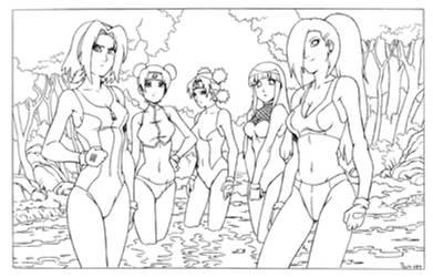 FAN - Naruto HD - Hidden Depths Team by shoxxe