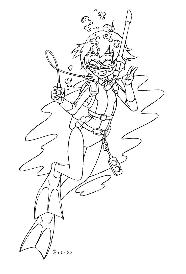 fan beyblade metal fury madoka wetsuit scuba by shoxxe - Beyblade Metal Fury Coloring Pages