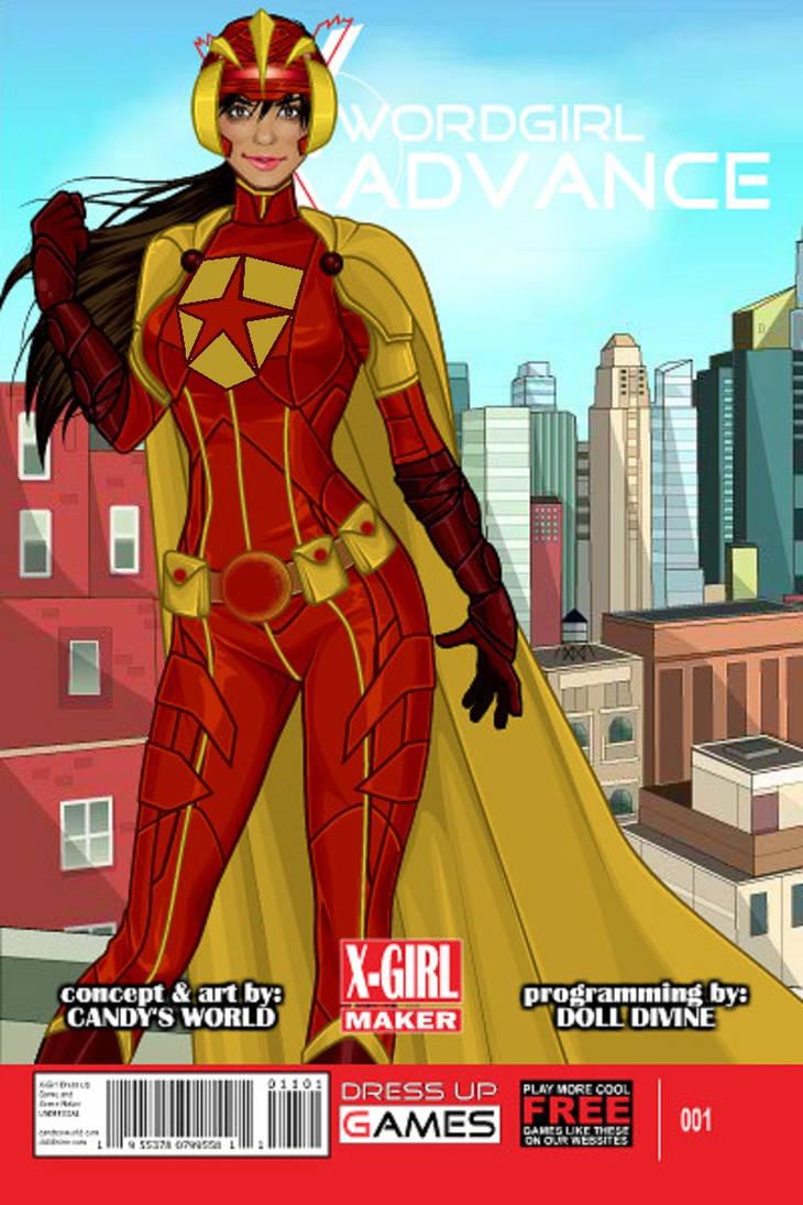 New Wordgirl Armor by multificionado
