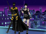Batgirl, Armored and Out for Punk Rock