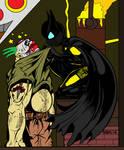 Batgirl Interrogates Thug