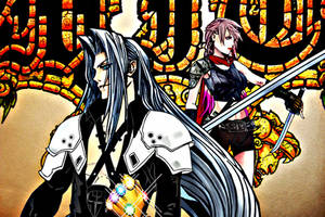 Hanna and Sephiroth for Infinity by multificionado