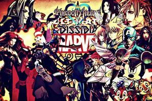 Kingdom Hearts: Ultimate Dissidia Marvel Face-Off by multificionado