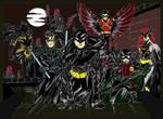 Batman and Company Ambushed by the Red Hood Gang