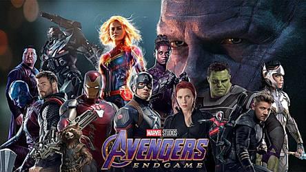 Avengers Endgame Fan Banner by multificionado