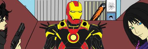 The Gullwings Take Manhattan...and Tony Stark by multificionado