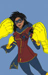 Ultimate Ms Marvel (Kamala Khan) redo