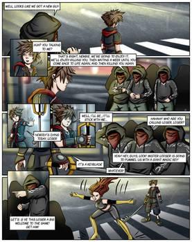 Kingdom Hearts Ultimate Dissidia Marvel Ch1page16