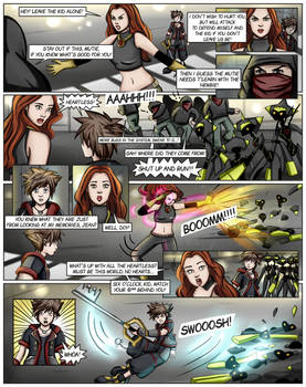 Kingdom Hearts Ultimate Dissidia Marvel Ch1Page17
