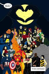 Kingdom Hearts Ultimate Dissidia Marvel ch1page22