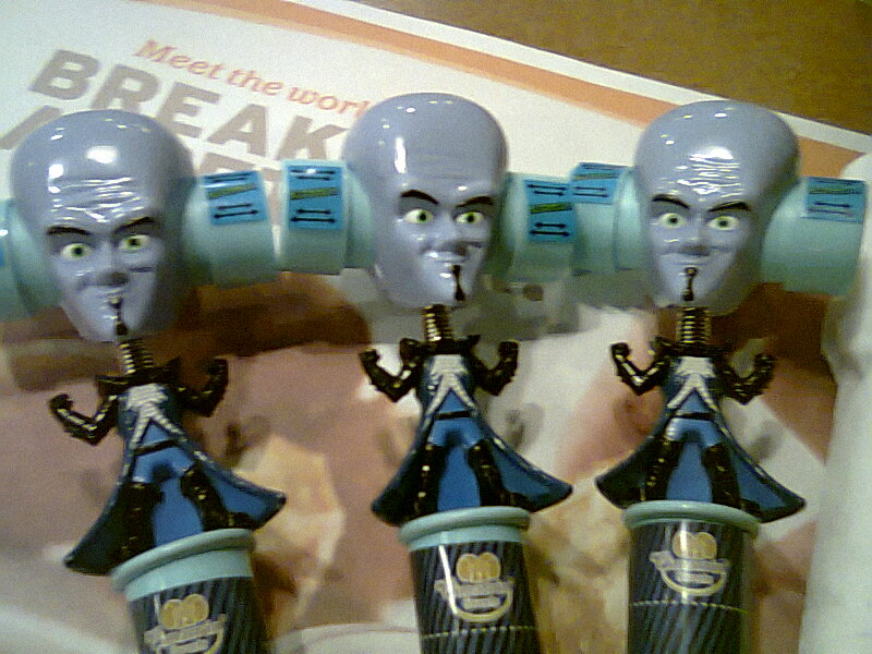 megamind big head with candys by lain444 on deviantart
