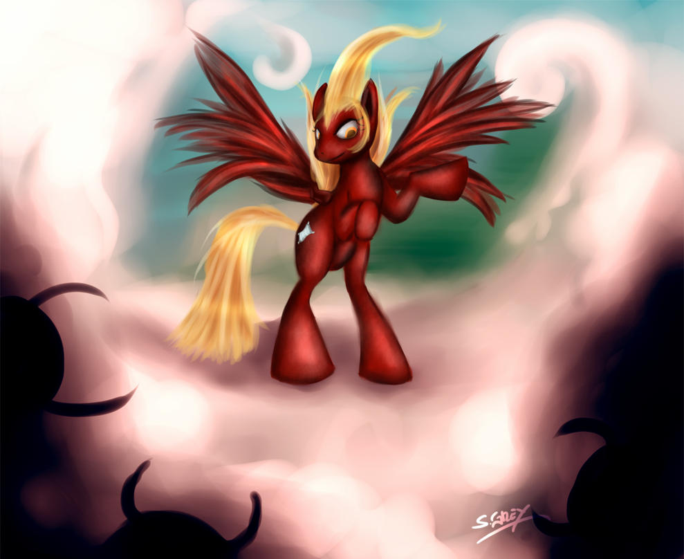 Embernap the Cloud Keeper by Silverhyren