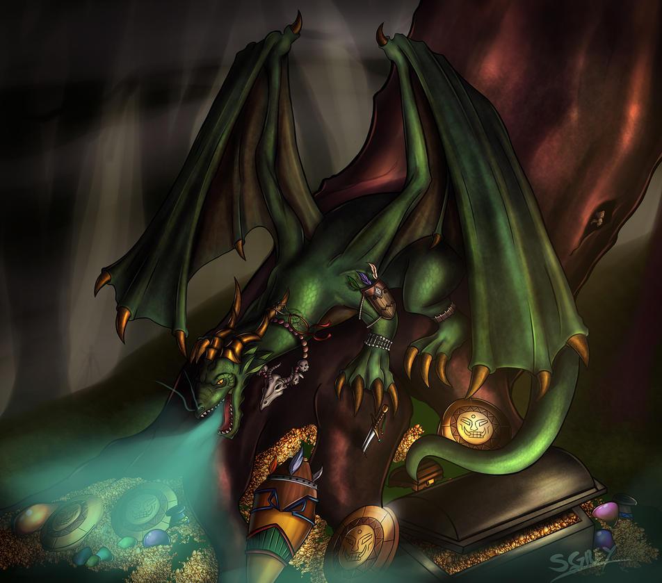 Greatwreck the Venomous by Silverhyren
