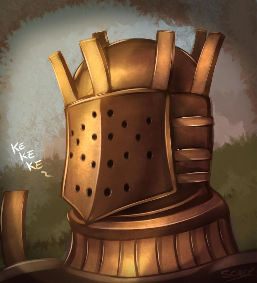 Knight Lautrec of Carim by Silverhyren