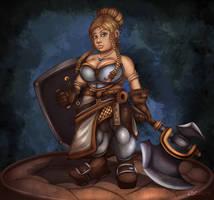 Dorna Ironbender by Silverhyren