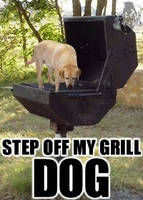 Step off my grill. by passingstrange