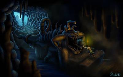 Cave Monster by selmiak
