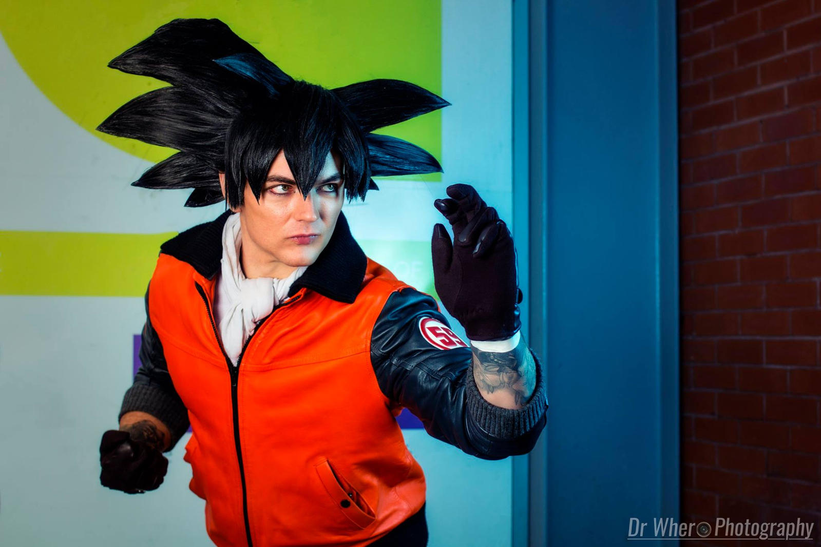 Son Goku Dragon Ball Z Cosplay 59 Jacket Cell Saga By