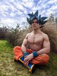 Dragon Ball Super Ultra Instinct Son Goku Cosplay by cosplayminney