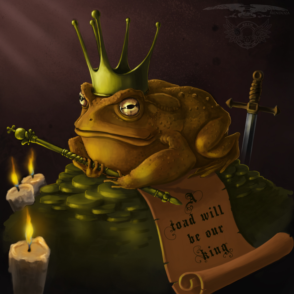 King Toad by Art-by-Ed...