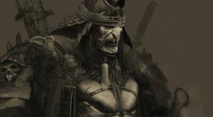 Orc samurai by samsalbak9