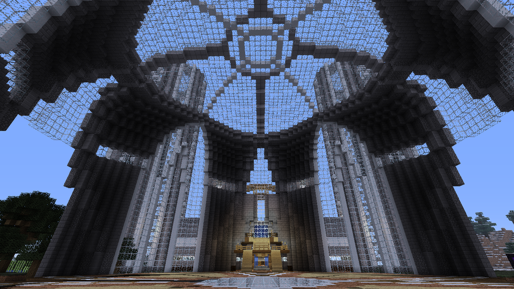 minecraft castle the dome by THELYNCHINATOR on DeviantArt