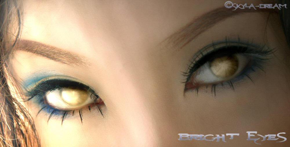 .Bright Eyes. by Sky-Hat