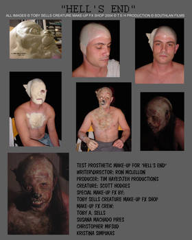 Creature Make-up Hell's End