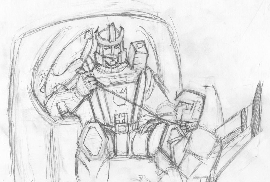 Galvatron and Starscream by Apricots-from-Nara
