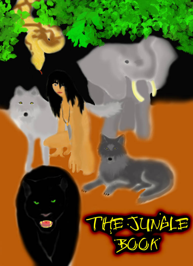 the jungle books by thetomatohead2