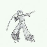 Slashing Rukia :animation: by Akebashi-chan