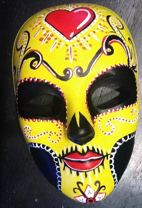 Day of the Dead mask by DaneBNA on DeviantArt