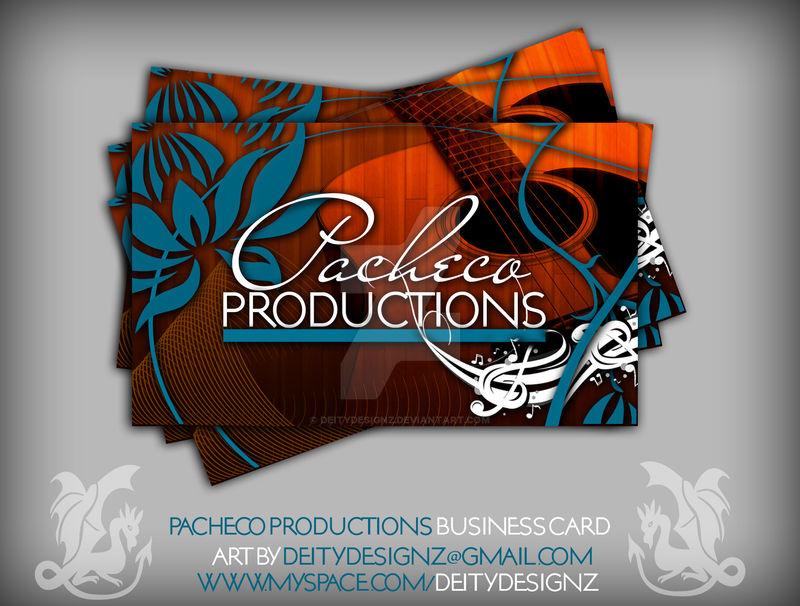 Pacheco Prod Business Card