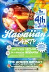 Hawaiian Party  Flyer