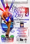 Puerto Rican Day unde 21 flyer