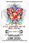Ed Hardy Fashion Show flyer