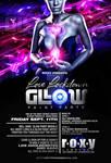love lockdown glow party flyer