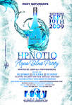 hpnotiq aqua party flyer