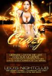 Crazy Fridays flyer