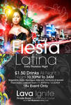 Fiesta Latina Flyer