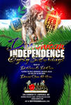 Dominican independence flyer