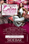 Upscale Latin Night Flyer