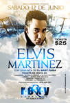 Elvis Martinez flyer roxy