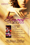 Elegant Thursdays Flyer