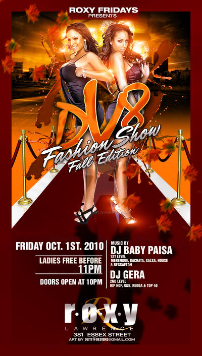DV8 Fashion Show Fall Flyer By DeityDesignz ...