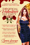 official vday party flyer